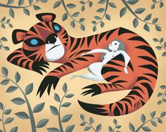 Tiger Lady   Illustrator: Brandon James Scott