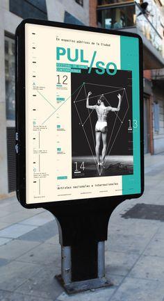 PULSO / Festival de Danza Contemporánea on Behance