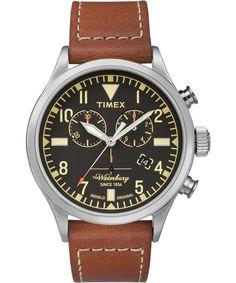 Timex + Redwing Chronograph 42MM Watch