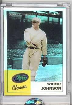 WALTER JOHNSON WASHINGTON SENATORS!
