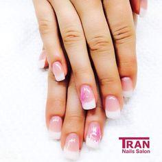French stardust ✨ #trannails #nageldesign #nagelstudioerbach #nailart #wallofnails #gel #manicure