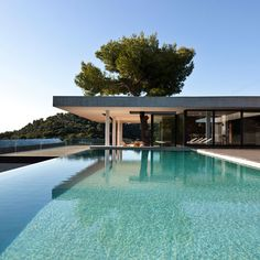Plane House by K Studio, located on Skaithos Island, Greece.