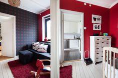 Bilder, Barnrum, Soffa, rött - Hemnet Inspiration