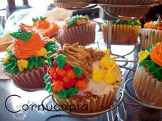 pretty fall cupcakes by the life of jennifer dawn