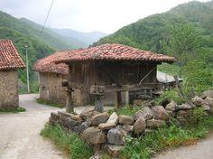 Hórreo from Cosgaya, Cantabria