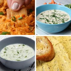 4 Vegan Dipping Sauces by Tasty