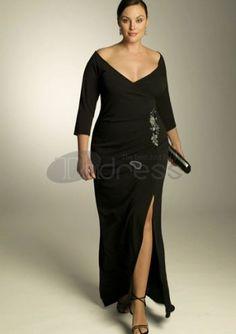 Plus Size Evening Dresses / plus size evening dress Belladonna Gown / http://www.thdress.com/plus-size-evening-dress-Belladonna-Gown-p577.html