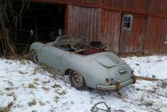 Barn Find 356 Porsche. Sure, it's a treasure, but what would you do with it?