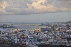 Vista de Las Palmas de Gran Canaria, amanecer del día 14 de Junio de 2015, a las 07:00 am... http://www.kokilin.com