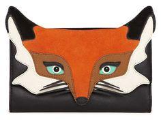 Kate Spade Fall 2015 fox clutch