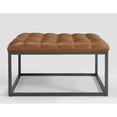 1000 Ideas About Tufted Leather Ottoman On Pinterest Leather Ottoman Cocktail Ottoman And