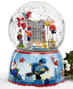 The year I finally make it to NY to see the parade...I am buying this globe.  [Macy's 2013 Thanksgiving Day Parade Snow Globe]