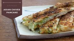 Heal me in the kitchen: Asian Chives Pancake