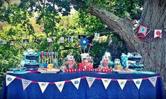 Vivid Weddings and Events : Aeroplane Themed Birthday Party