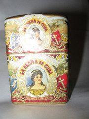 La Aroma Lighter(too much flash!) (ca1av3ra) Tags: crafts cigar bands labels lighter zippo cigarbands