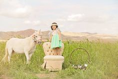 Well Dressed Wolf, Unicorn Photo Session, Portraits of Grace Photography