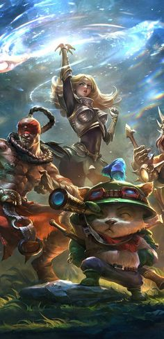 Game Hd Widescreen Wallpapers League Of Legends Game Wallpaper Www