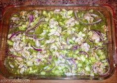 Sabor Celeste | My Mexican Kitchen: Aguachile de Camarón