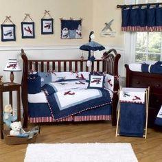 Airplanes bedding and crib bedding on pinterest - Airplane crib bedding sets ...