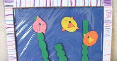 Preschool Crafts for Kids*: Summer Aquarium Fish Craft