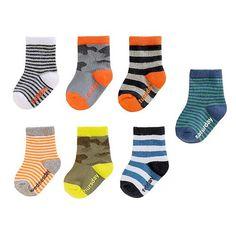 Baby Boy / Toddler Boy OshKosh B'gosh® 7-pk. Day of the Week Socks