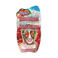 PINCHme Free Sample - Montagne Jeunesse Strawberry Soufflé An indulgent moisturizing and gentle exfoliating masque