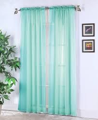sheer teal curtains - Google Search