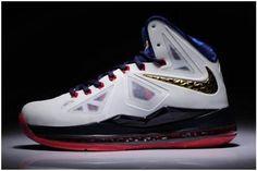 http://www.asneakers4u.com Nike LeBron 10 X  Women Shoes Gold Medal