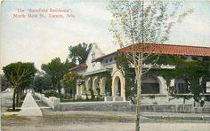 Tucson AZ Steinfield Residence North Main Street House Vintage Postcard CA 1910s   eBay