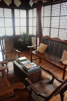 Philippine Interiors Designs Architectures Landscapes: Pin By Lailany Pagulayan On Old. In 2019 Best Picture For asian interior bali For Your Taste You are looking for something, and Filipino Architecture, Philippine Architecture, Tropical Architecture, Architecture Design, Filipino Interior Design, Asian Interior, Future House, Filipino House, Philippines House Design