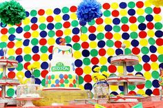 Can you tell me how to get to this party? Excellent ideas for a classic Sesame style birthday!