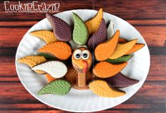 Thanksgiving Cookie Platter with Tutorial