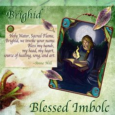 Prayer to Brighid.....So mote it be....