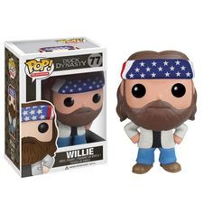 Funko POP! Television - Vinyl Figure - Duck Dynasty - WILLIE (4 inch)