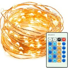 TaoTronics LED String Lights 200 LEDs Dimmable Festival Decorative Lights for Seasonal Holiday, Complete Waterproof, UL Listed(Copper Wire Lights, Warm White) Starry String Lights, Led Rope Lights, Indoor String Lights, Bedroom Decor Lights, Deco Led, Copper Wire Lights, Led Christmas Lights, Holiday Lights, Autumn