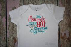 My Mommys one HOT Dental Hygienist...machine by Honeybunnythreads