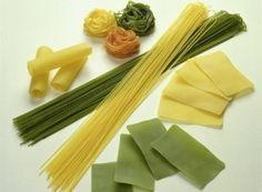 Verschiedene Pasta-Sorten