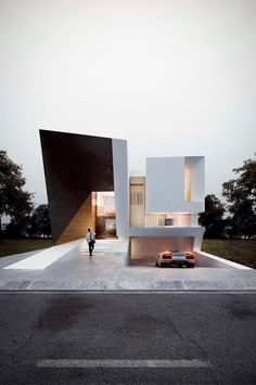 Japan Architecture, Architecture Building Design, Minimalist Architecture, Modern Architecture House, Facade Design, Architecture Details, Exterior Design, Japanese Style House, Modern House Facades