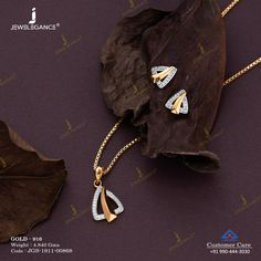 Gemstone Pendant Set jewellery for Women by jewelegance. ✔ Certified Hallmark Premium Gold Jewellery At Best Price Gold Ring Designs, Gold Earrings Designs, Gold Jewellery Design, Gold Pendent, Pendant Set, Diamond Pendant, Gold Necklace Simple, Gold Jewelry Simple, Pink Diamond Jewelry