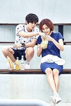 """Uee and Park Hyungsik for """"Bang Bang"""" Summer 2016 Collection"""