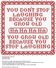 Design: Laughing Sampler Size: 107w x 107h Designer: Kell Smurthwaite, Kincavel Krosses Permissions: This design is copyright to Kell Smurthwaite and Kincavel Krosses You may use, copy and/or share...