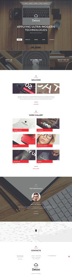 Web Design website inspirations at your coffee break? Browse for more Responsive JavaScript Animated #templates! // Regular price: $69 // Sources available: .HTML,  .PSD #Web Design #Responsive JavaScript Animated
