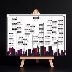 New York seating plan