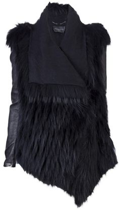BARBARA BUI Fur Jacket ('d want it to be faux for sure)