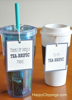 """Thanks for being a """"Tea-riffic"""" Counselor."""