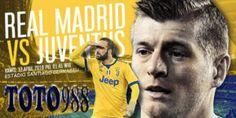 Prediksi Bola Jitu Real Madrid VS Juventus 12 April 2018