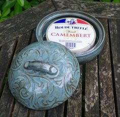 Brie or camembert baker handthrown in stoneware by CaractacusPots, £19.99
