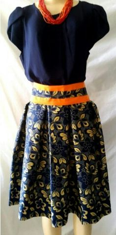 Afroantillian skirts by Artes de Panama