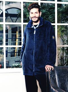 Batas para estar por casa para hombre. Chaqueta Homewear BARANDI de tejido térmico, fibra de alta calidad, gordita e increiblemente suave.