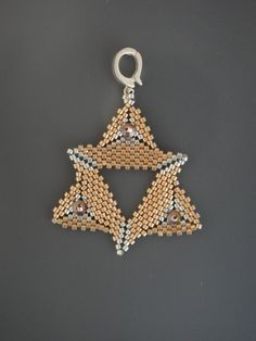 My Golden Star Pendant. $15.00, via Etsy.